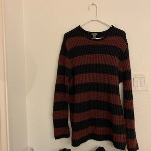 Black and Red H&M Sweater. Men's large.